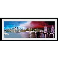 London Day and Night - 30x75 Collector Prints