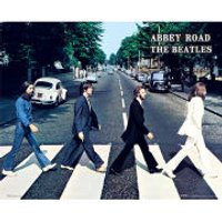 The Beatles Abbey Road - Mini Poster - 40 x 50cm - Beatles Gifts