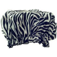 Hydrea London Eco Friendly Shower Cap - Zebra