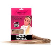 Sleep In Rollers Straight Ponytail (Various Shades) - Auburn