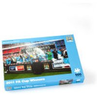 Paul Lamond Games Man City 2011 FA Cup Winners Puzzle - Games Gifts