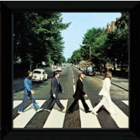 The Beatles Abbey Road - 12   x 12   Framed Album Prints - Beatles Gifts
