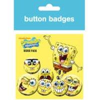 Spongebob Expressions - Badge Pack
