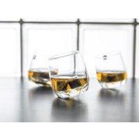 Sagaform Bar Whisky Glasses with Rounded Base (6 Pack)
