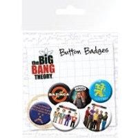 The Big Bang Theory Character Icons - Badge Pack