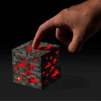 Minecraft Light-Up Redstone Ore - Minecraft Gifts