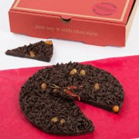The Gourmet Chocolate Pizza Company Chilli Chocolate 7 Inch Pizza - Chilli Gifts