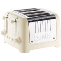 Dualit 46202 Slot Lite Toaster - Cream
