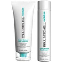 Paul Mitchell Instant Moisture Daily Shampoo and Daily Treatment (2x500ml)