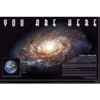 You Are Here Space - Maxi Poster - 61 x 91.5cm - Space Gifts