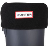 Hunter Women's Short Fleece Welly Socks - Black - L - Black