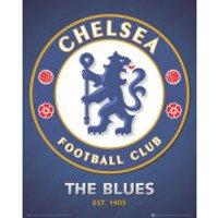 Chelsea Club Crest 2013 - Mini Poster - 40 x 50cm