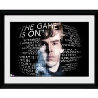Sherlock Sherlock Quotes - 16x12 Framed Photographic - Quotes Gifts