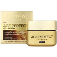 LOreal Paris Dermo Expertise Age Perfect Cell Renew Advanced Restoring Night Cream (50ml)