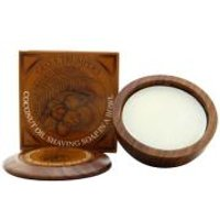 Geo. F. Trumper Wooden Shave Bowl - Coconut 80g