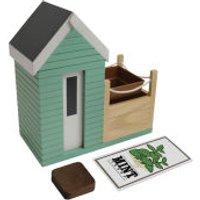 Beach Hut Planter Gift Set
