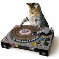 Cat Scratching DJ Deck - Dj Gifts