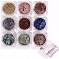 Sombra de ojos en polvo Bellápierre CosmeticsStack Pandera 9 unidades