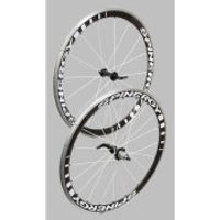 Spinergy Stealth PBO Wheelset with Free Continental GP Tyres and Tubes - Shimano - Black Spoke