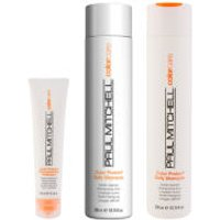 Paul Mitchell Colour Protect Trio- Shampoo, Conditioner & Reconstructive Treatment