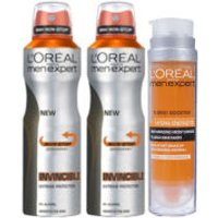 LOreal Paris Men Expert Invincible 96 Hours Bundle
