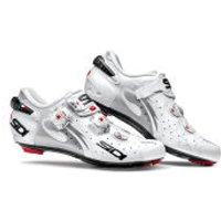 Sidi Wire Carbon Vernice Womens Cycling Shoes - White - EU 42/UK 7 - White