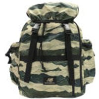New Balance Mens AOP Backpack - Bronze/Green