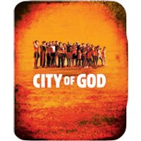 City of God - Zavvi Exclusive Limited Edition Steelbook (UK EDITION)