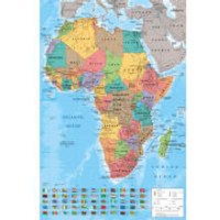 Africa Map - Maxi Poster - 61 x 91.5cm - Africa Gifts