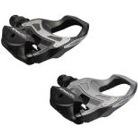 Shimano PD-R550 SPD-SL Resin Composite Road Pedals - One Option - Black