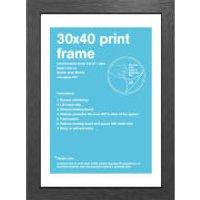Black Frame - 30 x 40 cm