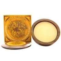 Trumpers Wooden Shave Bowl - Sandalwood (Normal Skin)