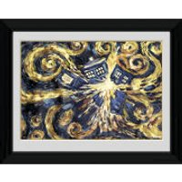 Doctor Who Exploding Tardis - 30 x 40cm Collector Prints - Doctor Who Gifts