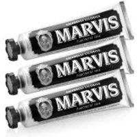 Marvis Amarelli Liquorice Mint Toothpaste Triple Pack (3 x 75ml)