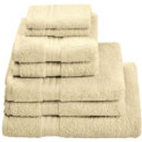 Restmor 100% Egyptian Cotton 7 Piece Supreme Towel Bale Set (500gsm) - Ivory