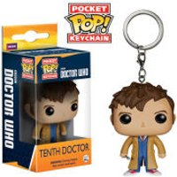 Doctor Who 10th Doctor Pocket Pop! Vinyl Figure Key Chain - Key Gifts