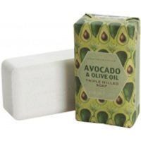 CRABTREE & EVELYN AVOCADO & OLIVE OIL TRIPLE-MILLED SOAP (158G) - Soap Gifts