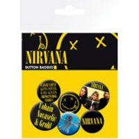 Nirvana Smiley - Badge Pack