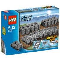 LEGO City: Flexible Tracks (7499)