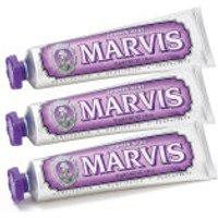 Marvis Jasmine Mint Toothpaste Bundle (3x85ml)