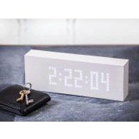 Message Click Clock - White
