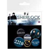 Sherlock Mix - Badge Pack