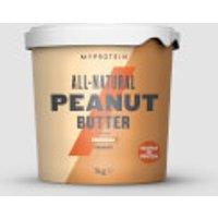Volledig natuurlijke pindakaas - 1kg - Original - Crunchy