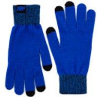 Strick Handschuhe - Blau - L/XL - Blau