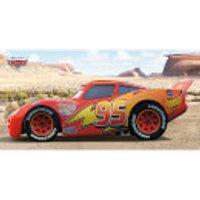 Cars (Lightning McQueen Sideshot) 50 x 100cm Canvas
