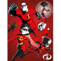 Incredibles 2 (Family) 60 x 80cm Canvas