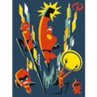 Incredibles 2 (Team) 60 x 80cm Canvas