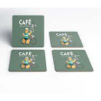 Cafe Du Cycliste Coaster Set