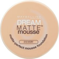 Maybelline New York Dream Matte Mousse Foundation - Various Shades - Ivory (010)
