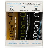 men-u Matt Refresh and Moisturise Set - 15ml (3 Products)